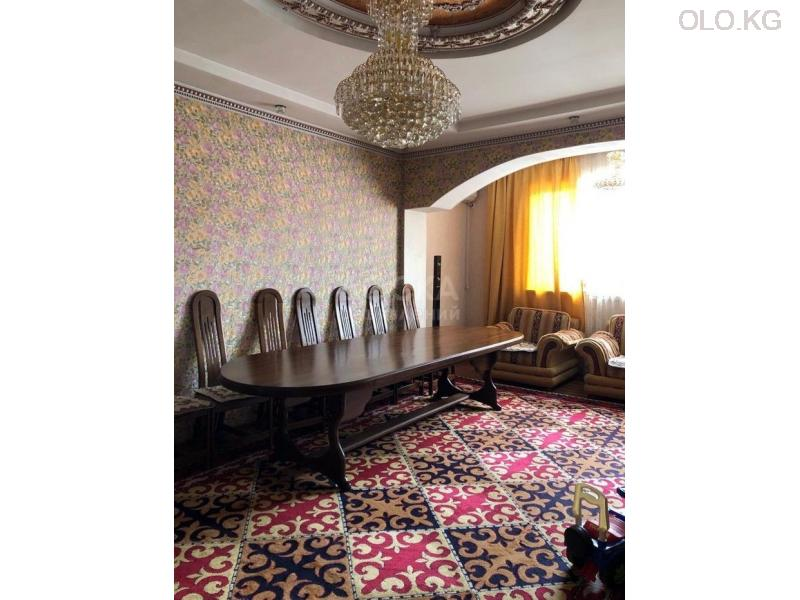 Продаётся 3к.кв элитка, vip городок Ала-Арча-1, 3этаж, 120м2, евро+мебель, дом сдан 3л/з. Цена 95$ - 3