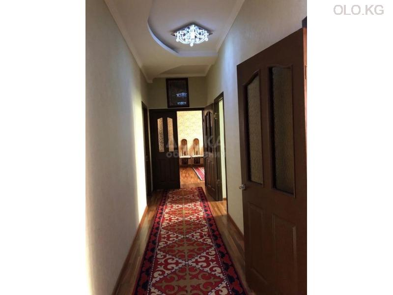 Продаётся 3к.кв элитка, vip городок Ала-Арча-1, 3этаж, 120м2, евро+мебель, дом сдан 3л/з. Цена 95$ - 4